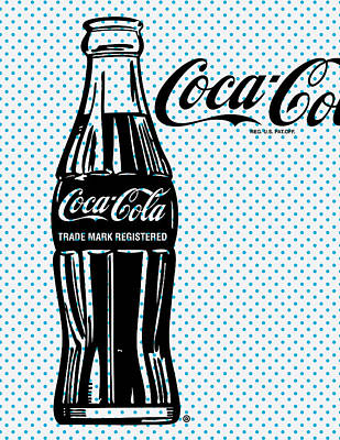 Digital Art - Pop Coke Bottle by Gary Grayson