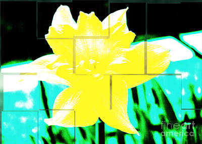 Pop Yellow Art Print by Arlene Carmel