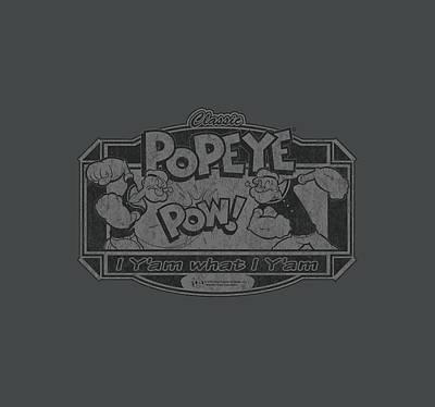 Spinach Digital Art - Popeye - Classic Popeye by Brand A
