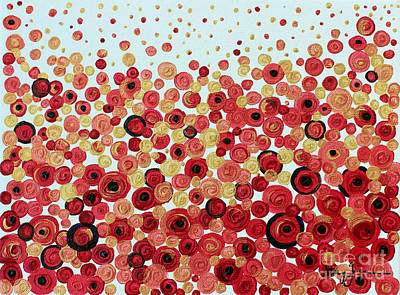 Painting - Poppies by Stacey Zimmerman