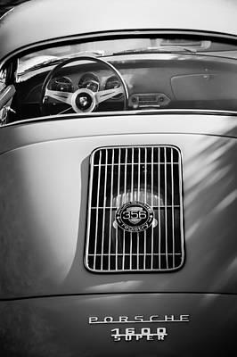 Photograph - Porsche 1600 Super Rear End by Jill Reger