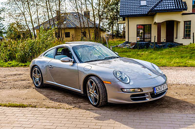 Photograph - Porsche 911 Carrera 4s by Tgchan