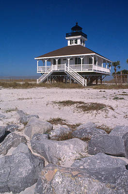 Photograph - Port Boca Grande Lighthouse by Bruce Roberts