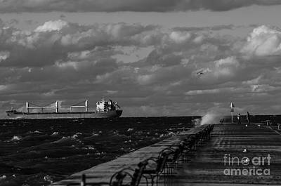 Photograph - Port Dalhousie Pier by JT Lewis