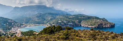 Photograph - Port Soller Panorama by Gary Eason