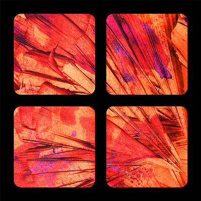 Abstract Modern Painting - Portal 2b New Boundaries by Brian Allan