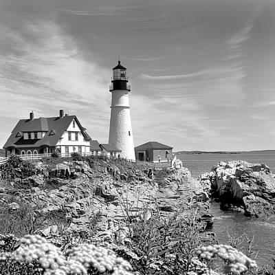 Portland Head Lighthouse Art Print by Mike McGlothlen