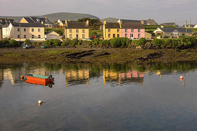 Portmagee Wall Art - Photograph - Portmagee Harbor Iveragh Peninsula by Tom Norring