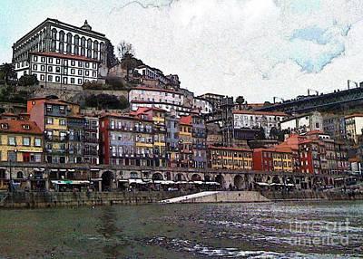 Photograph - Porto-241 by Rezzan Erguvan-Onal