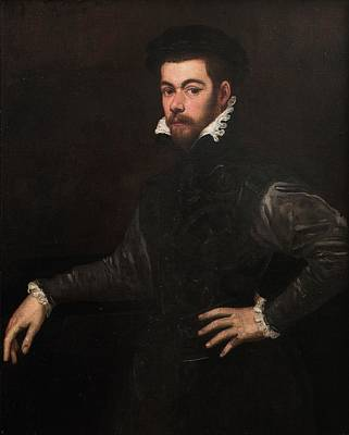 Portrait Painting - Portrait Of A Gentleman by Tintoretto