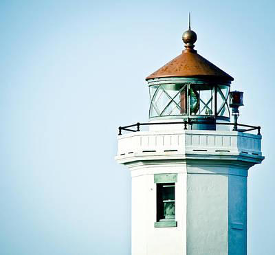 Photograph - Portrait Of A Lighthouse by Ronda Broatch