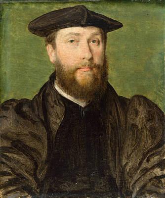 Painting - Portrait Of A Man by Corneille de Lyon