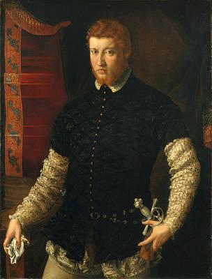 Painting - Portrait Of A Man by Francesco Salviati