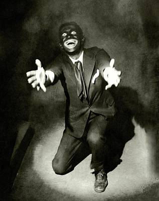 Portrait Of Al Jolson Art Print by Florence Vandamm
