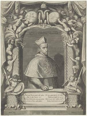 Terrestrial Drawing - Portrait Of Albert, Archduke Of Austria by Artokoloro