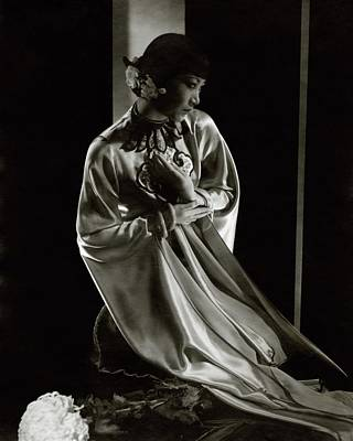 Film Photograph - Portrait Of Anna May Wong by Edward Steichen