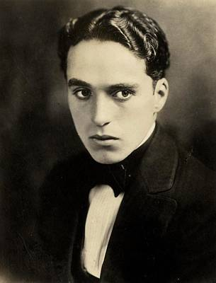 Comedian Photograph - Portrait Of Charlie Chaplin by American Photographer
