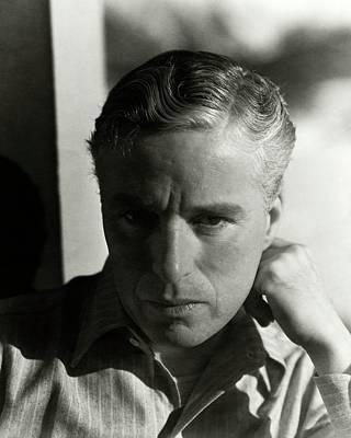 Chaplin Photograph - Portrait Of Charlie Chaplin by George Hoyningen-Huen?