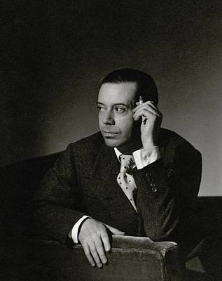 Look Away Photograph - Portrait Of Cole Porter by Horst P. Horst