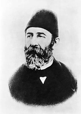 Pasha Photograph - Portrait Of Djemal Pasha by Underwood Archives