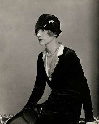 Cloche Hat Photograph - Portrait Of Helen Menken by Charles Sheeler