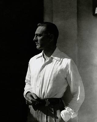 Look Away Photograph - Portrait Of John Barrymore by Edward Steichen
