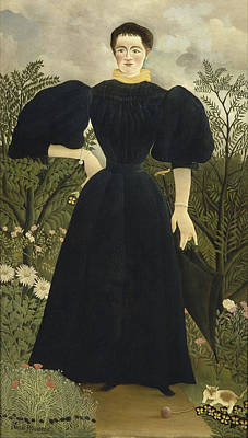 Painting - Portrait Of Madame M by Henri Rousseau