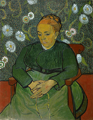 Painting - Portrait Of Madame Roulin by Vincent Van Gogh