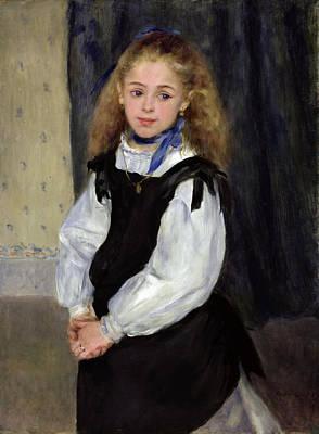 Portrait Of Mademoiselle Legrand Renoir Painting - Portrait Of Mademoiselle Legrand by Pierre-Auguste Renoir
