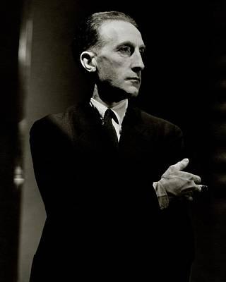 Photograph - Portrait Of Marcel Duchamp by Lusha Nelson