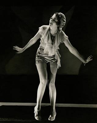 Actress Photograph - Portrait Of Ruby Keeler by Edward Steichen