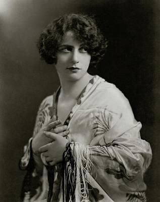Portrait Of Sophie Braslau Art Print
