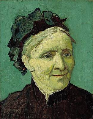 Pasadena Painting - Portrait Of The Artist's Mother by Vincent van Gogh