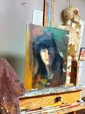 Painting - Portrait Study by Kevin Davidson