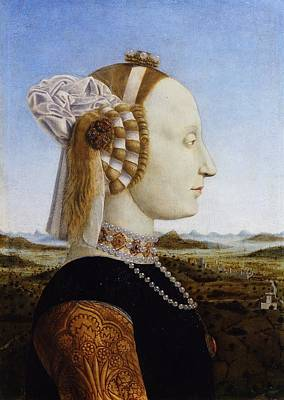 Duke And Duchess Painting - Portraits Of The Duke And Duchess Of Urbino by Piero della Francesca