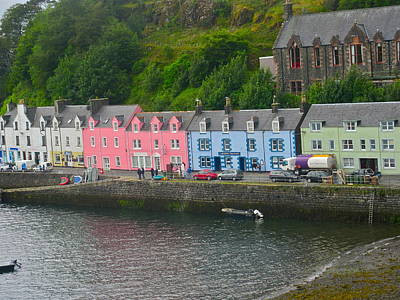 Photograph - Portree Scotland by Denise Mazzocco
