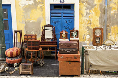 Outdoor Still Life Photograph - Portugal, Aveiro by Emily Wilson