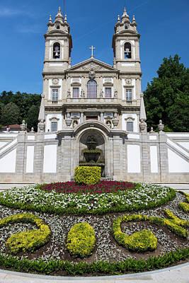 Jesus Photograph - Portugal, Braga, Tenoes, Portuguese by Emily Wilson