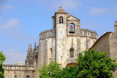 Portugal, Tomar Tomar Castle, Knights Art Print by Emily Wilson