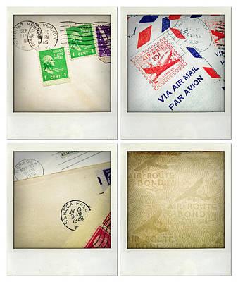 Postal Still Life Art Print by Les Cunliffe