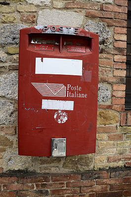 Photograph - Poste Italiane by Dany Lison