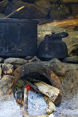 Photograph - Pots On The Stove by Alexey Stiop