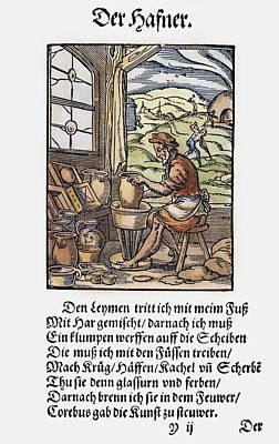 Potter, 1568 Art Print by Granger
