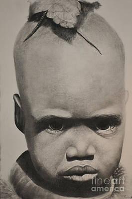 Pouty Face Art Print