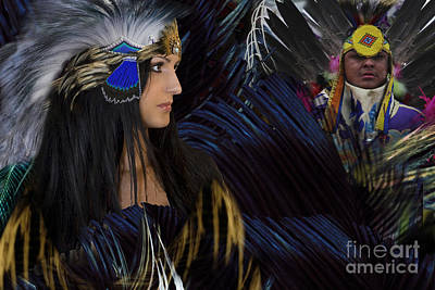 Digital Art - Pow Wow by Angelika Drake