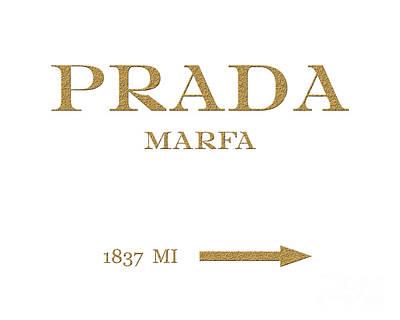 Prada Marfa Mileage Distance Original