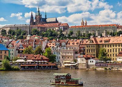 Czech Republic Photograph - Prague Castle by Shirley Radabaugh