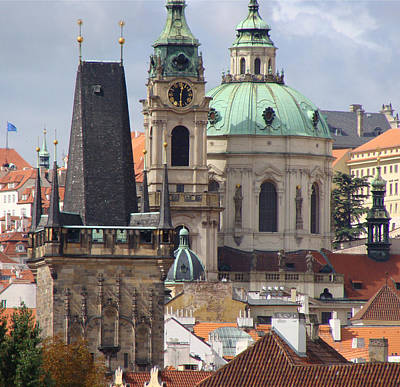 Art Print featuring the photograph Prague by Ira Shander