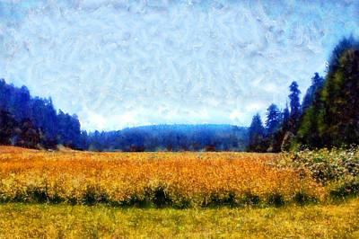Rowing - Prairie Creek Meadow by Kaylee Mason