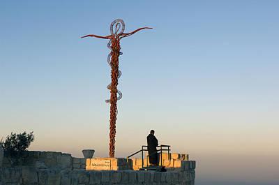 Mount Nebo Photograph - Prayer by Christian Heeb